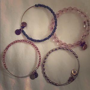 Beaded Alex & Ani Bracelets